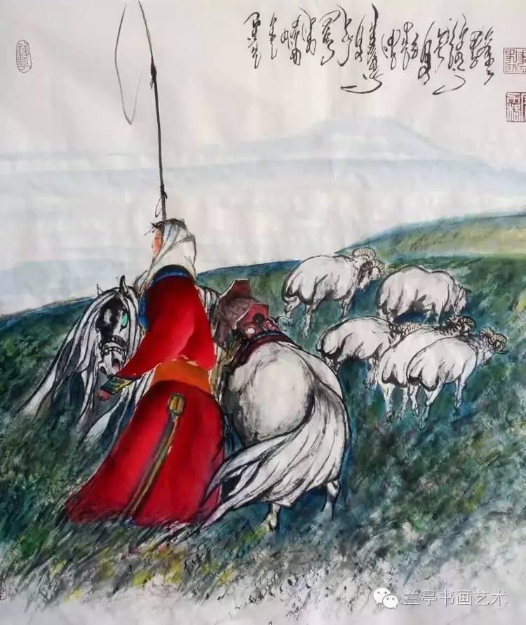 蒙古画家·宝力格 第4张