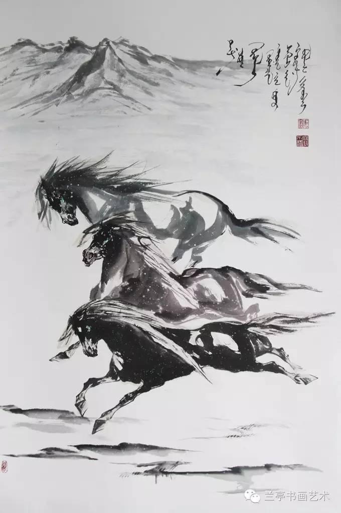 蒙古画家·宝力格 第2张