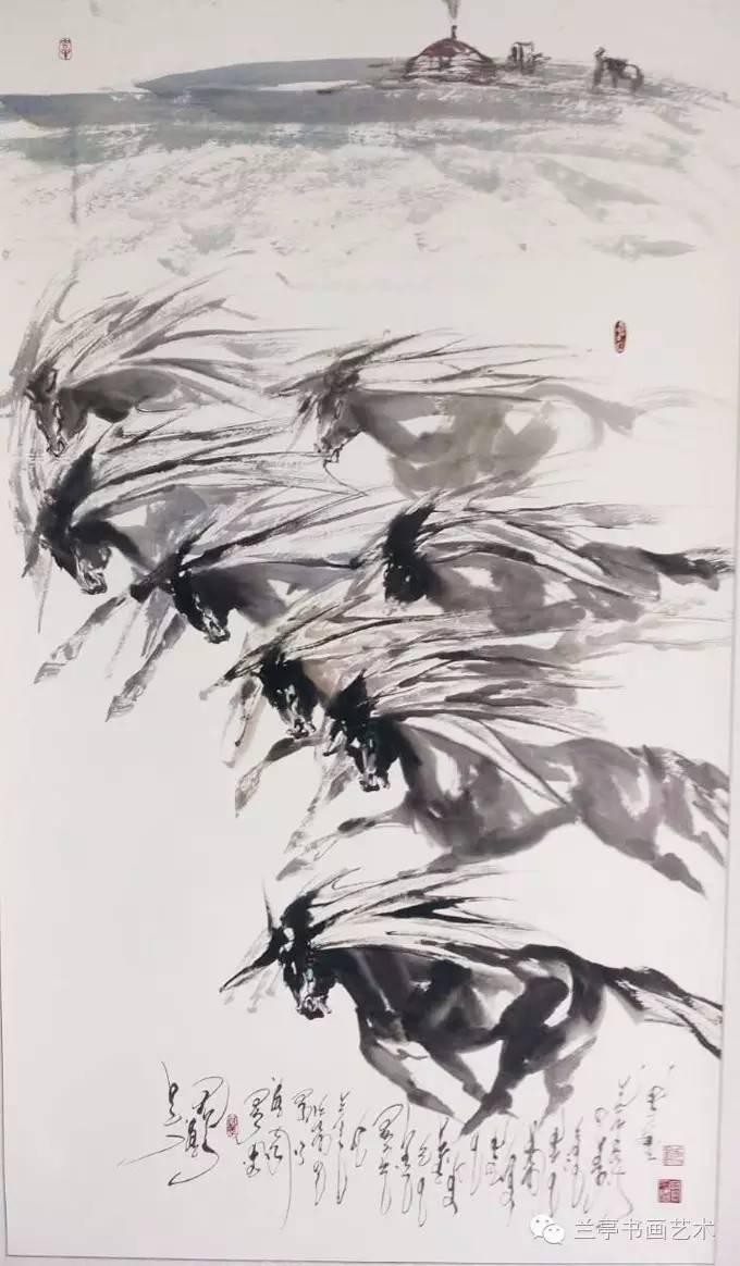 蒙古画家·宝力格 第9张