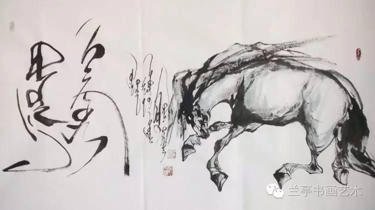 蒙古画家·宝力格 第8张