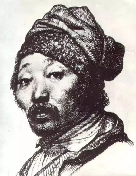 世界著名蒙古族画家费岳达尔•卡尔梅克 第1张