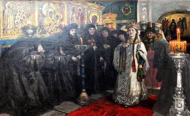 世界著名蒙古族画家费岳达尔•卡尔梅克 第7张