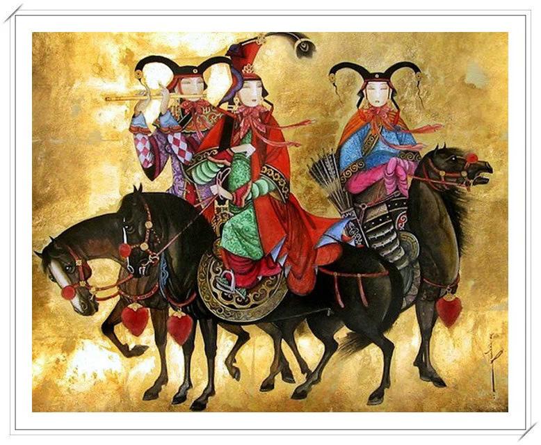 ®◆节日欣赏,画中的女人 — 蒙古画家Zayasaikhan Sambuu的作品 第12张