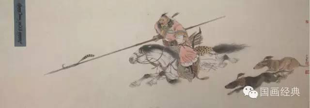 蒙古族著名画家白嘎力欣赏,大饱眼福 第3张
