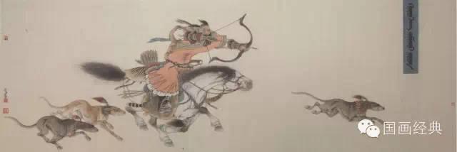 蒙古族著名画家白嘎力欣赏,大饱眼福 第4张