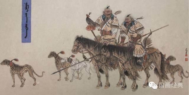 蒙古族著名画家白嘎力欣赏,大饱眼福 第10张