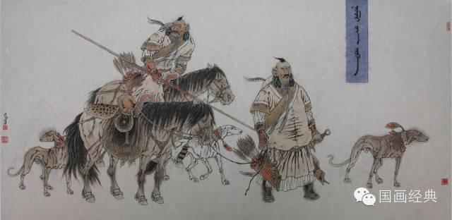 蒙古族著名画家白嘎力欣赏,大饱眼福 第9张