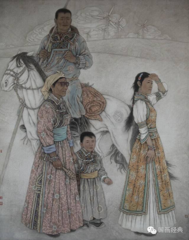 蒙古族著名画家白嘎力欣赏,大饱眼福 第18张