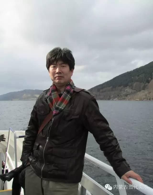 🔴蒙古族画家——那顺孟和境外水彩写生作品 第1张