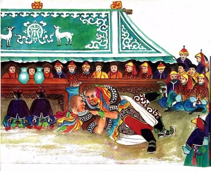 一位牧民画家 完美的诠释出蒙古族文化礼仪 来感受一下 第3张