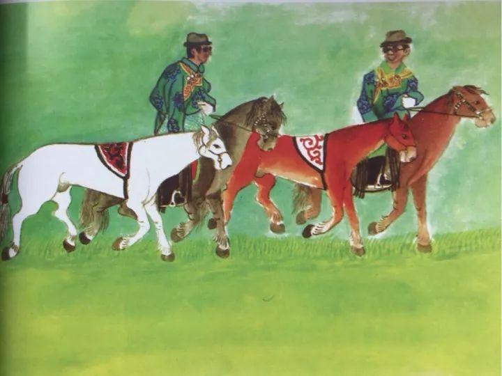 一位牧民画家 完美的诠释出蒙古族文化礼仪 来感受一下 第6张