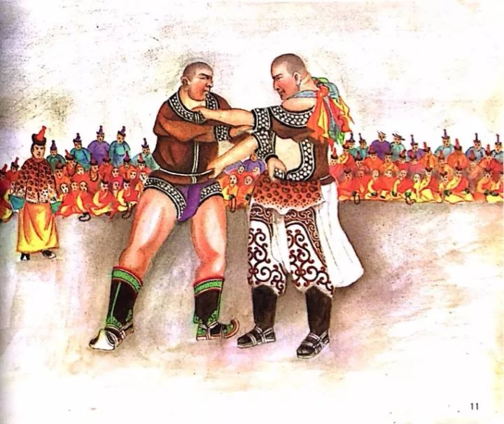 一位牧民画家 完美的诠释出蒙古族文化礼仪 来感受一下 第5张