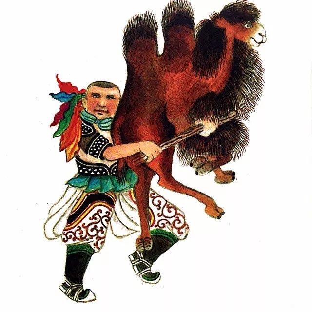 一位牧民画家 完美的诠释出蒙古族文化礼仪 来感受一下 第7张