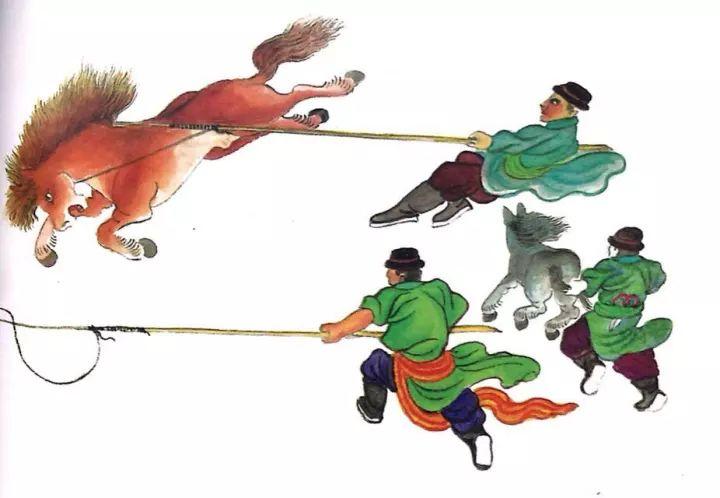 一位牧民画家 完美的诠释出蒙古族文化礼仪 来感受一下 第11张
