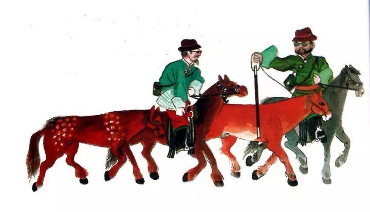 一位牧民画家 完美的诠释出蒙古族文化礼仪 来感受一下 第14张