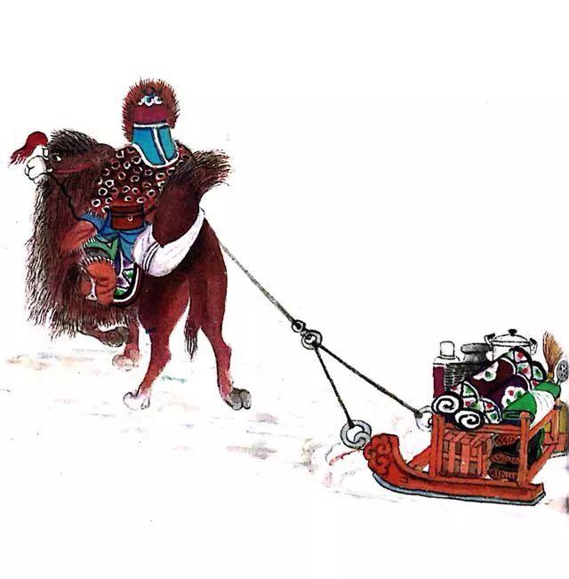 一位牧民画家 完美的诠释出蒙古族文化礼仪 来感受一下 第19张
