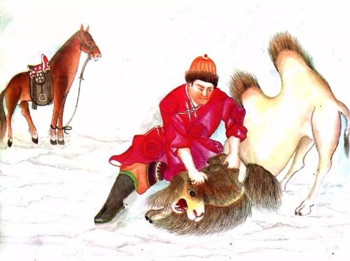 一位牧民画家 完美的诠释出蒙古族文化礼仪 来感受一下 第21张