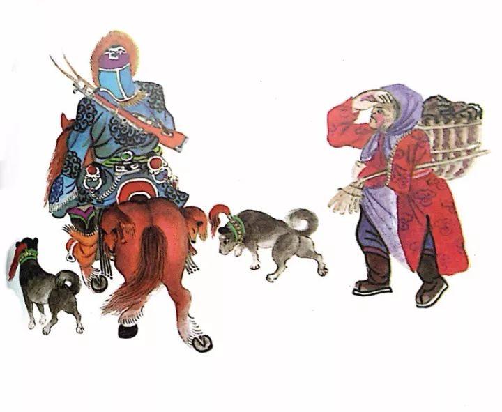 一位牧民画家 完美的诠释出蒙古族文化礼仪 来感受一下 第20张