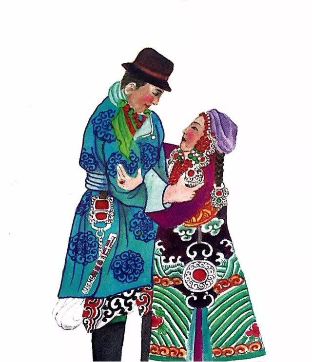 一位牧民画家 完美的诠释出蒙古族文化礼仪 来感受一下 第23张