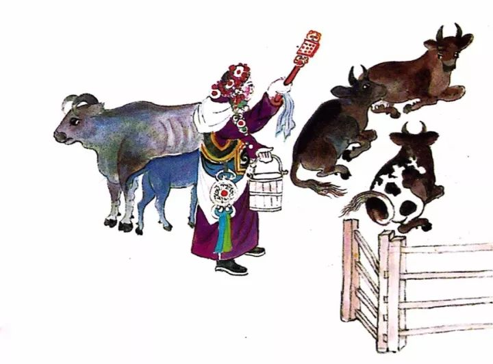 一位牧民画家 完美的诠释出蒙古族文化礼仪 来感受一下 第25张