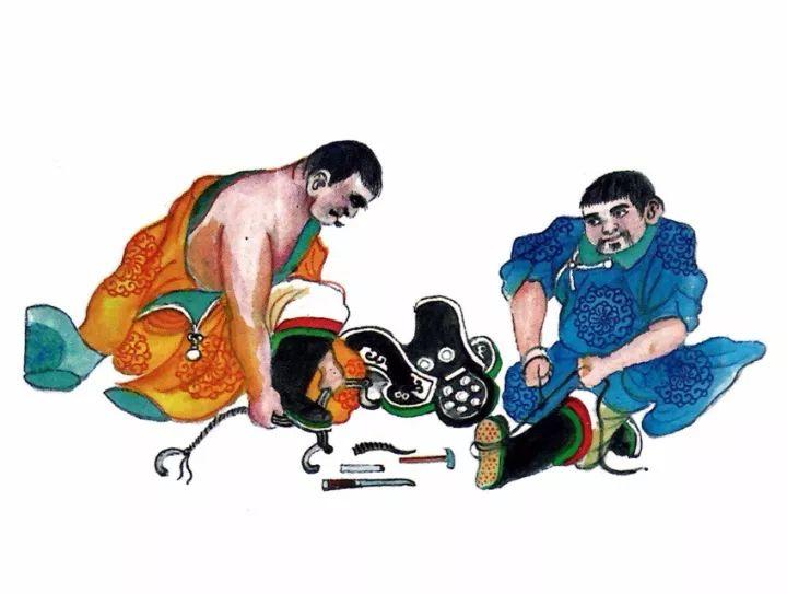 一位牧民画家 完美的诠释出蒙古族文化礼仪 来感受一下 第28张