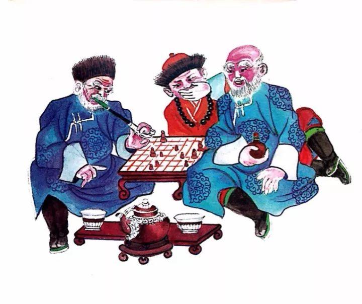 一位牧民画家 完美的诠释出蒙古族文化礼仪 来感受一下 第26张