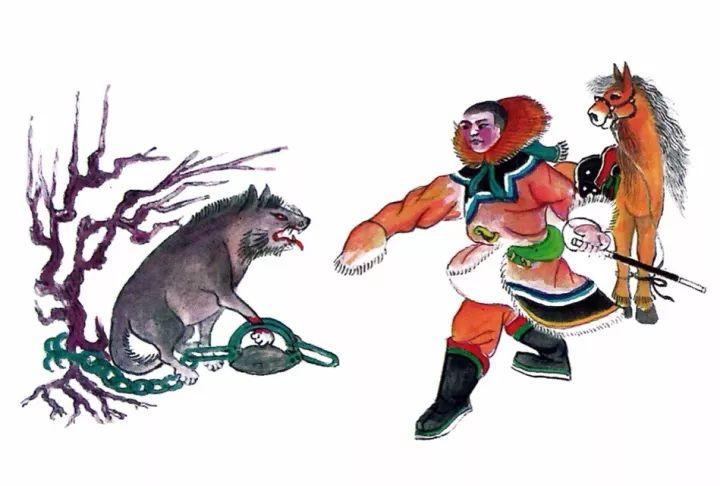 一位牧民画家 完美的诠释出蒙古族文化礼仪 来感受一下 第30张