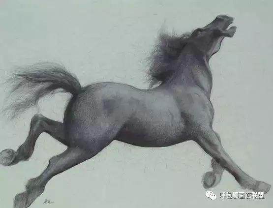 蒙古族画家长海作品 第9张