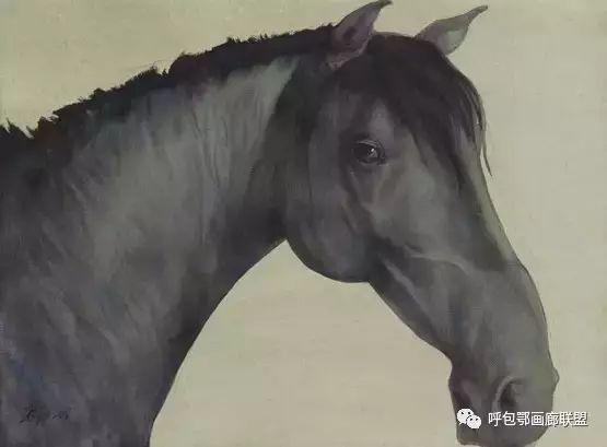 蒙古族画家长海作品 第11张