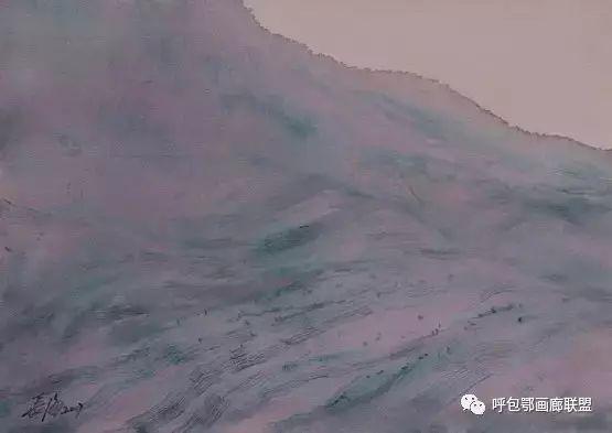 蒙古族画家长海作品 第15张