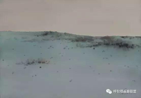 蒙古族画家长海作品 第20张