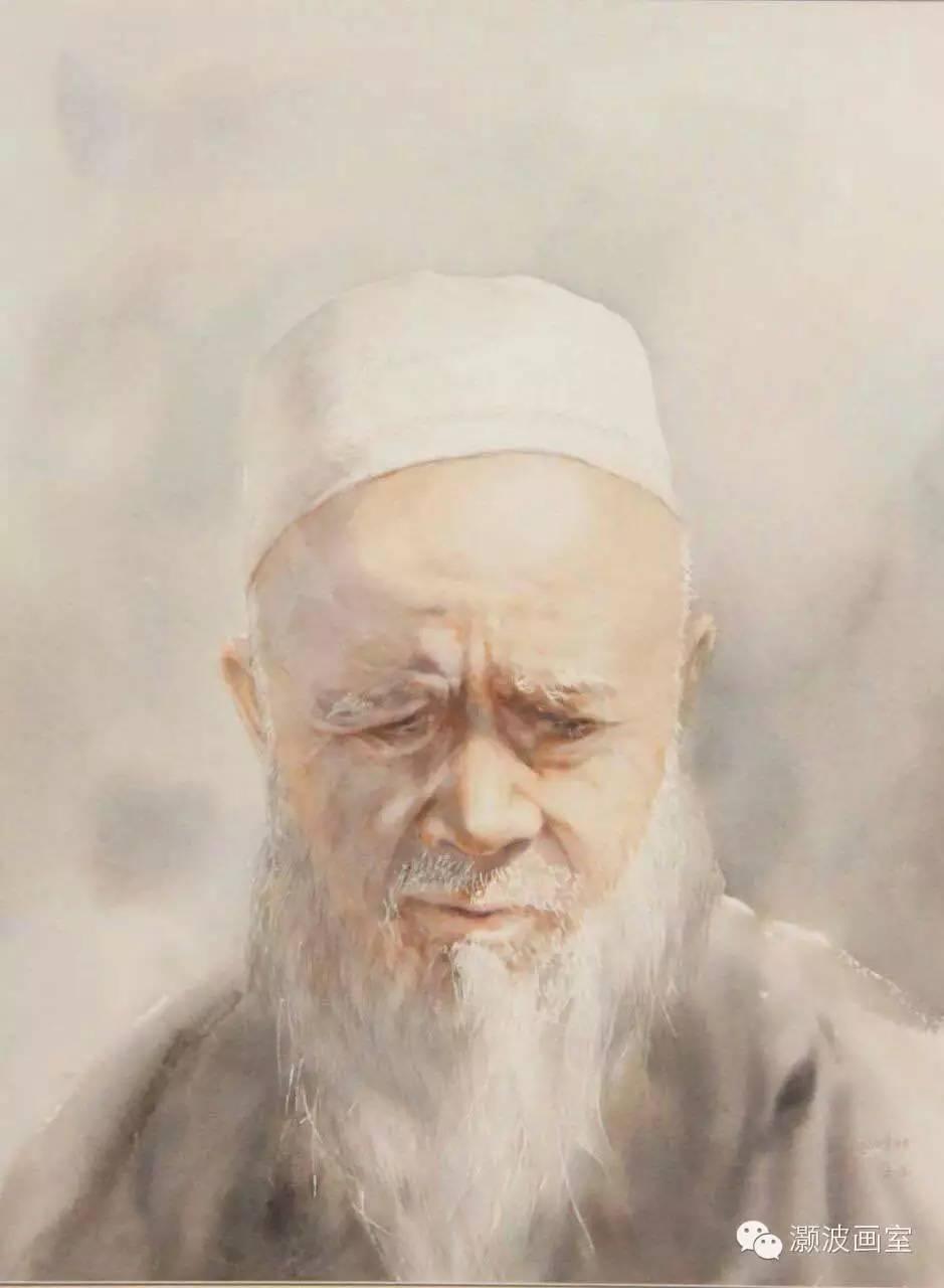 著名蒙古族青年水彩画家宝玉作品欣赏 第11张