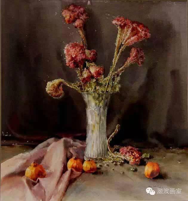 著名蒙古族青年水彩画家宝玉作品欣赏 第10张