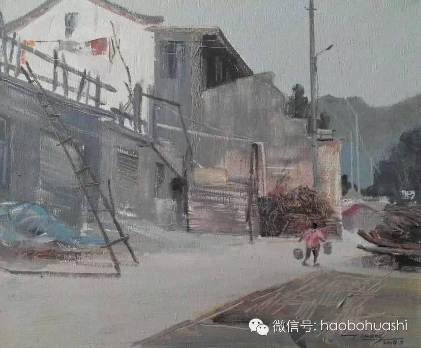 钢铁般的汉子——蒙古族油画家铁钢 第3张