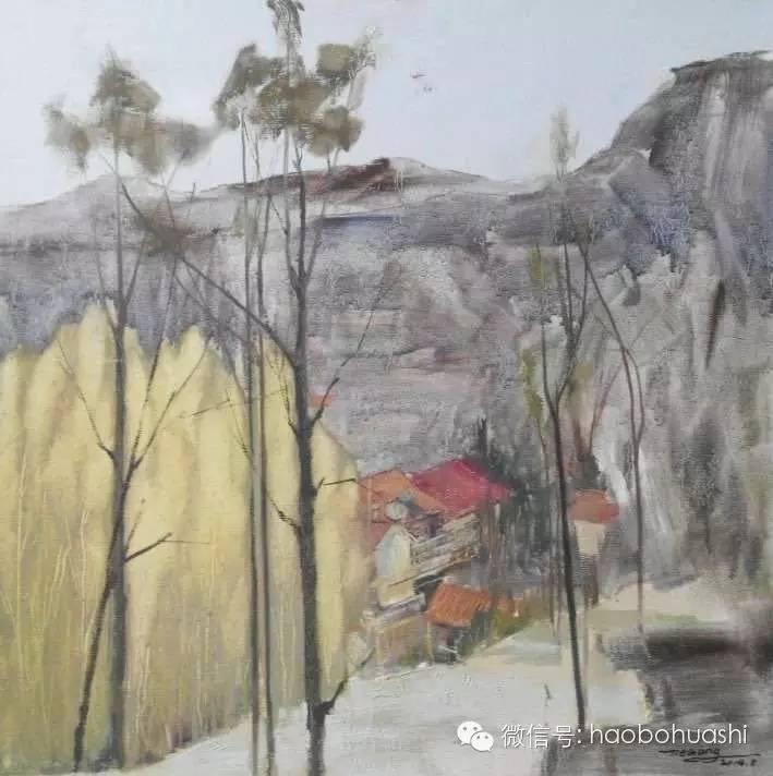 钢铁般的汉子——蒙古族油画家铁钢 第2张