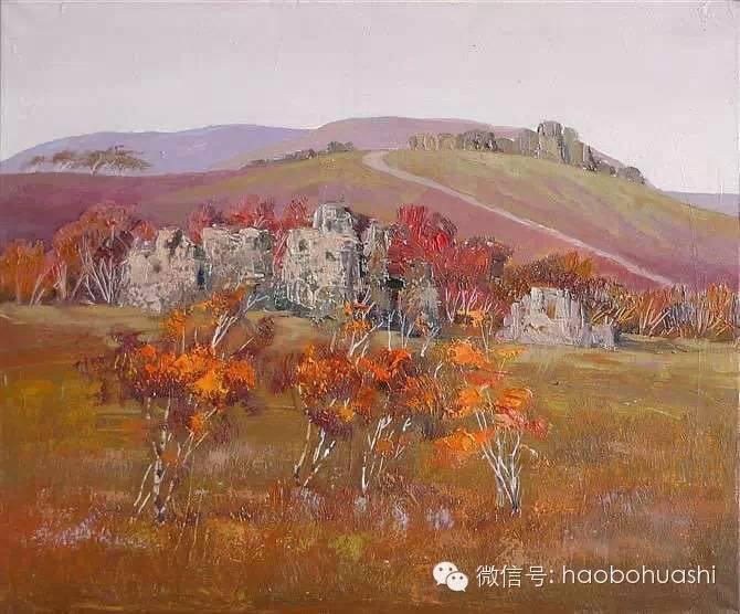 钢铁般的汉子——蒙古族油画家铁钢 第7张