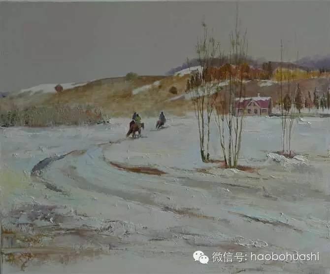 钢铁般的汉子——蒙古族油画家铁钢 第8张