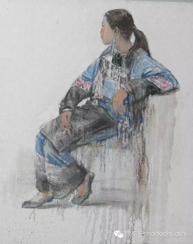 钢铁般的汉子——蒙古族油画家铁钢 第4张