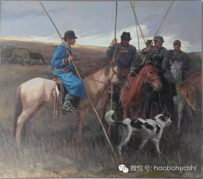 钢铁般的汉子——蒙古族油画家铁钢 第9张