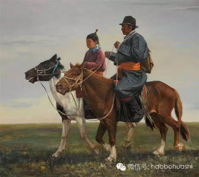 钢铁般的汉子——蒙古族油画家铁钢 第11张