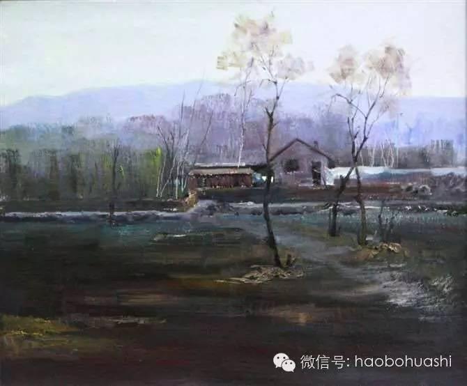 钢铁般的汉子——蒙古族油画家铁钢 第15张