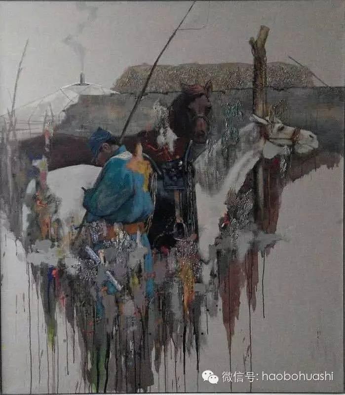 钢铁般的汉子——蒙古族油画家铁钢 第18张