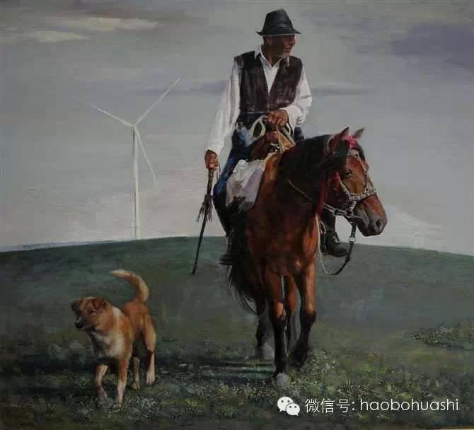 钢铁般的汉子——蒙古族油画家铁钢 第19张