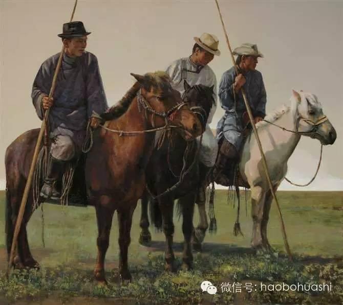 钢铁般的汉子——蒙古族油画家铁钢 第20张
