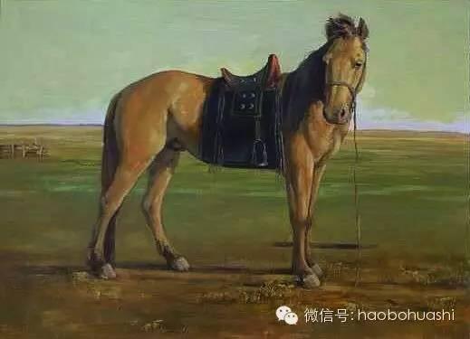 钢铁般的汉子——蒙古族油画家铁钢 第25张