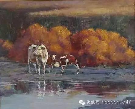 钢铁般的汉子——蒙古族油画家铁钢 第22张