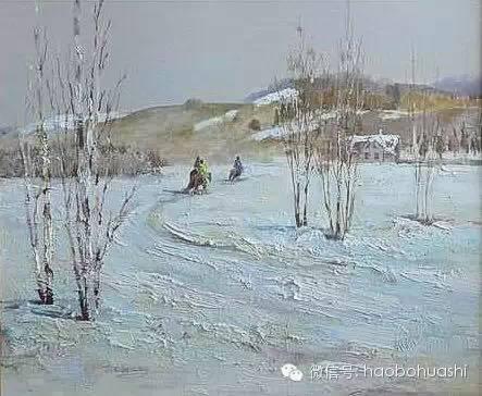 钢铁般的汉子——蒙古族油画家铁钢 第23张