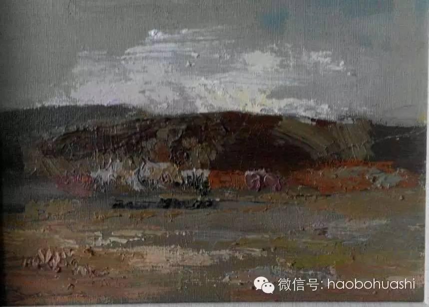 钢铁般的汉子——蒙古族油画家铁钢 第27张