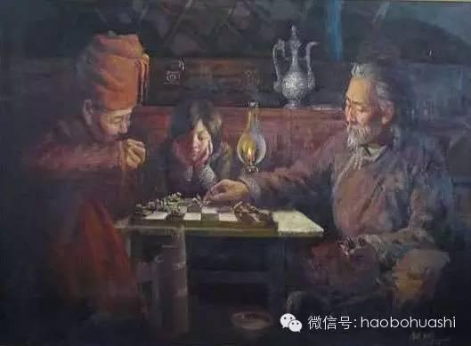 钢铁般的汉子——蒙古族油画家铁钢 第26张