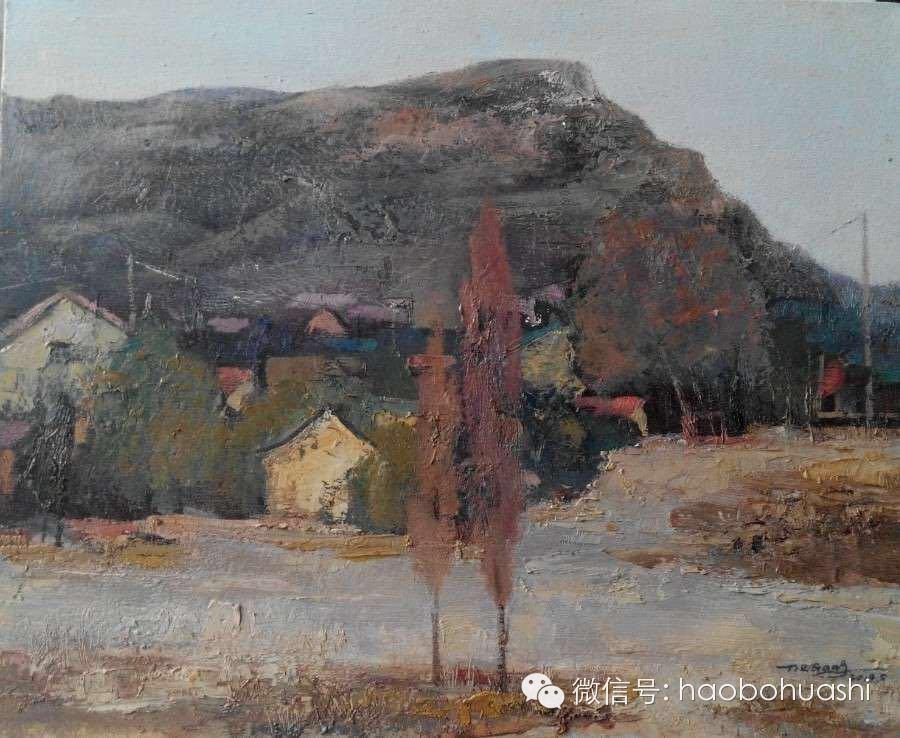 钢铁般的汉子——蒙古族油画家铁钢 第29张